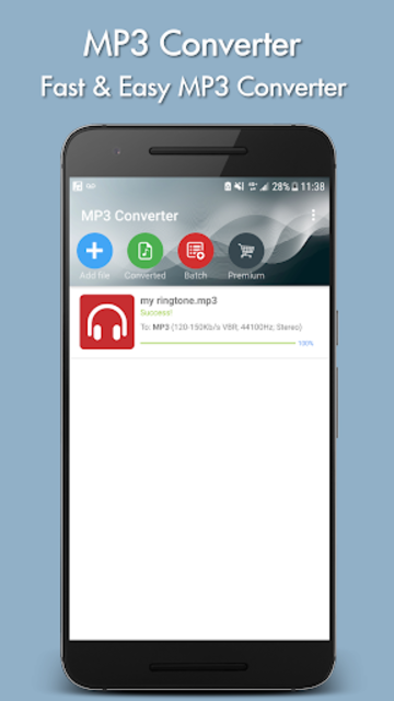 MP3 Converter screenshot 1