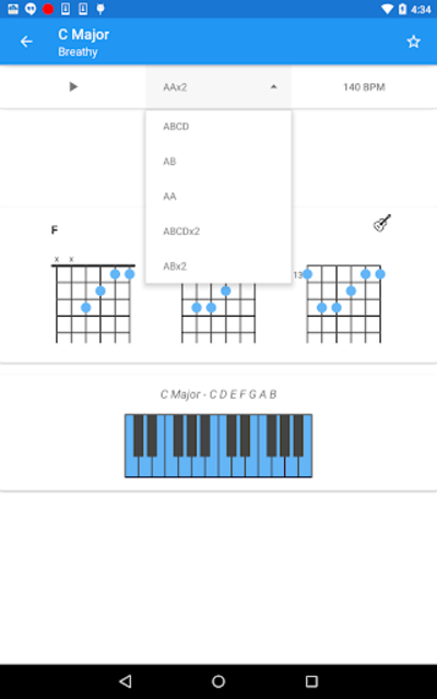 Chord Progression Master - By Genres screenshot 9