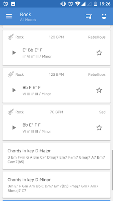 Chord Progression Master - By Genres screenshot 7