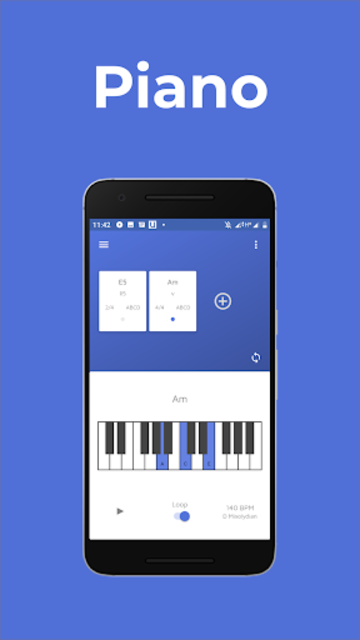 Easy Chord: Progression Editor and Creator screenshot 2