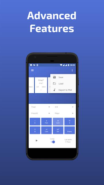 Easy Chord: Progression Editor and Creator screenshot 3