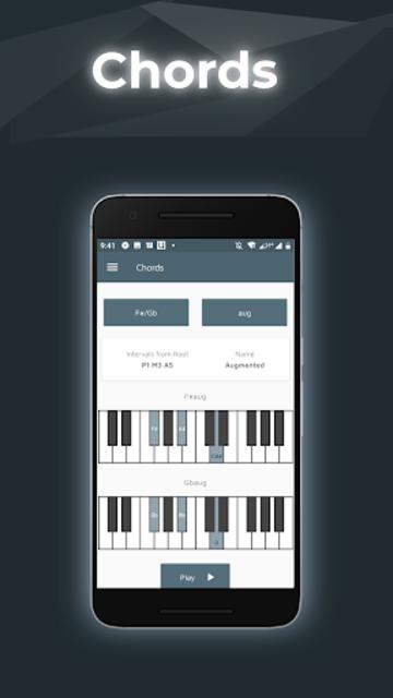 Music Theory with Piano Tools screenshot 1