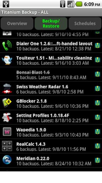 Titanium Backup PRO Key ★ root needed screenshot 1