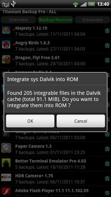 Titanium Backup PRO Key ★ root needed screenshot 6