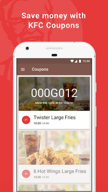 KFC Poland screenshot 1