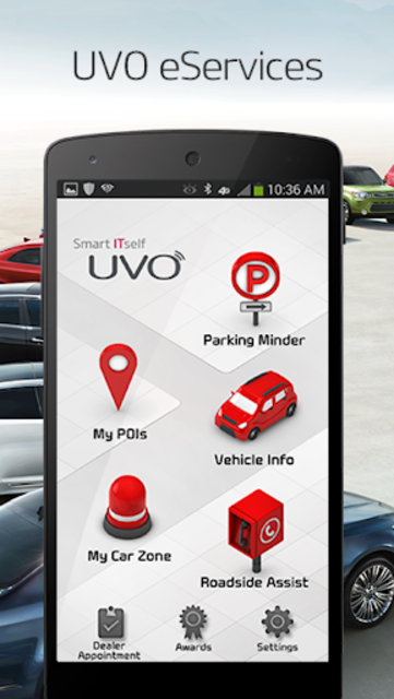 UVO eServices screenshot 1