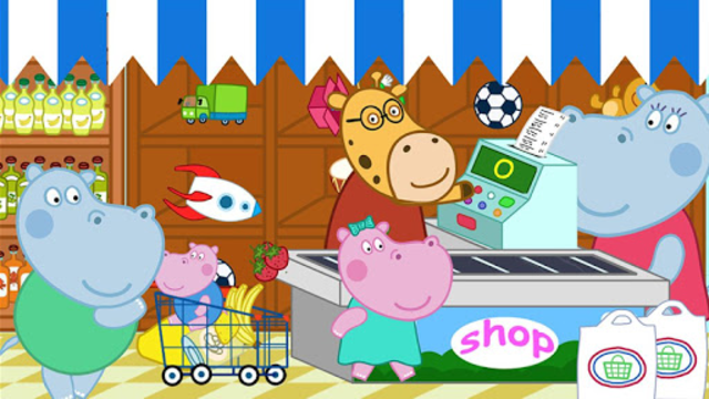 Supermarket: Shopping Games for Kids screenshot 5
