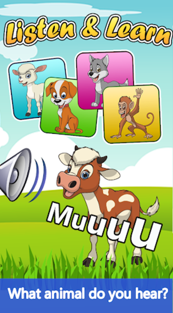 Animal names in languages (No ads) screenshot 2