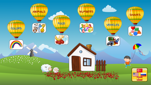 Educational Games for Kids - Colors Numbers Shapes screenshot 1