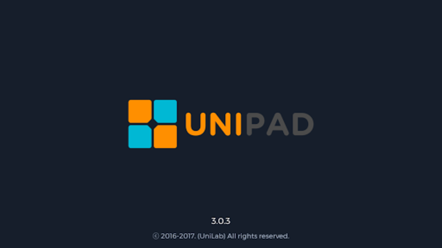 UniPad screenshot 1