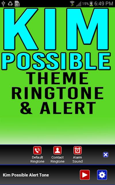 Kim Possible Ringtone & Alert screenshot 2