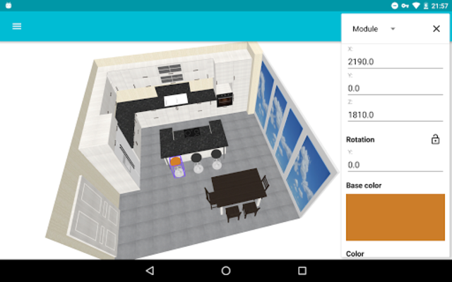Kitchen Planner 3D screenshot 1