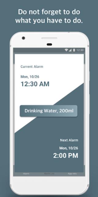 Repeat Alarm - Recurring reminder & Interval timer screenshot 5