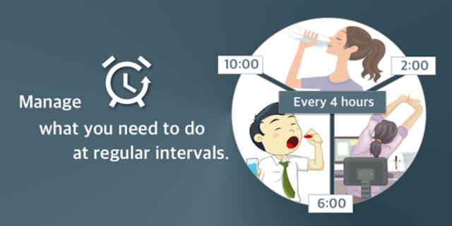 Repeat Alarm - Recurring reminder & Interval timer screenshot 1