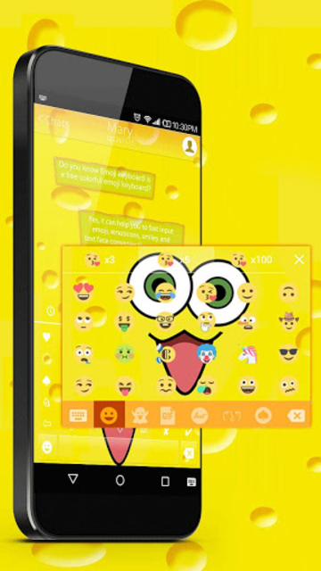 Sponge Emoji Wallpaper screenshot 2