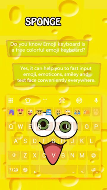 Sponge Emoji Wallpaper screenshot 1