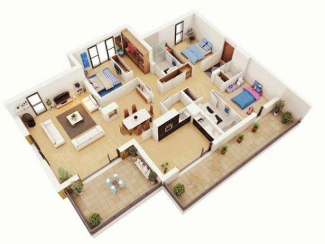 Home Interior Design 3D screenshot 2