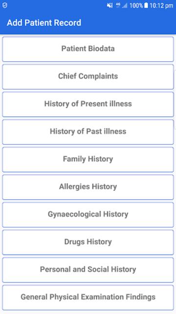 Patient Notes screenshot 3