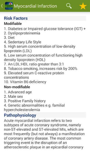 Cardiovascular Diseases screenshot 4