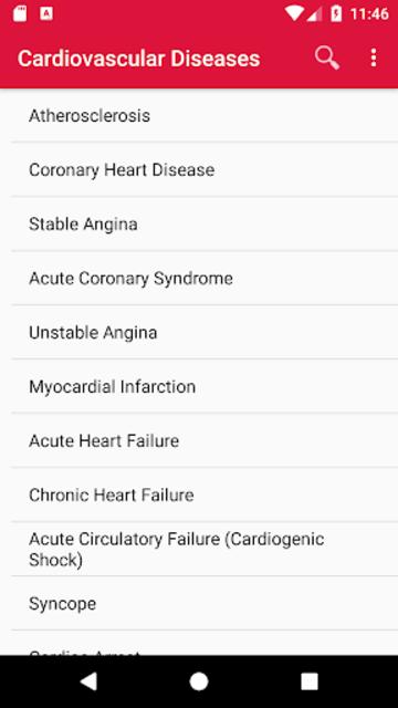 Cardiovascular Diseases screenshot 1