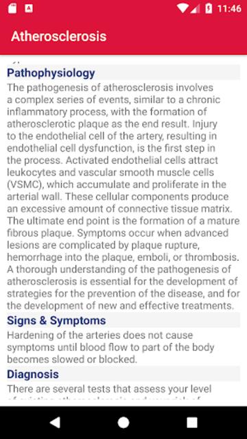 Cardiovascular Diseases screenshot 3
