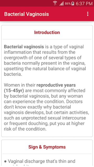 Sexually Transmitted Diseases screenshot 3