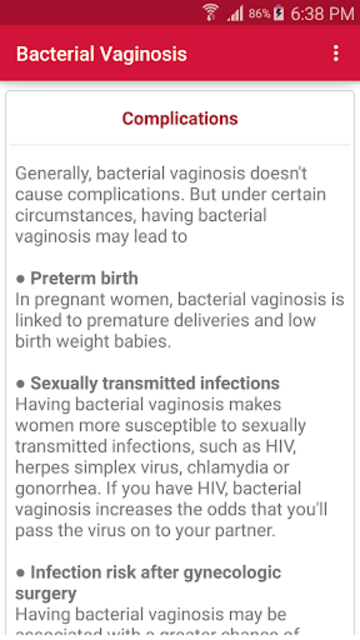 Sexually Transmitted Diseases screenshot 6