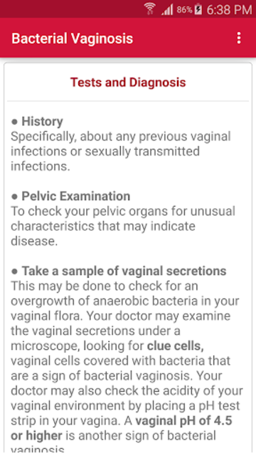 Sexually Transmitted Diseases screenshot 14
