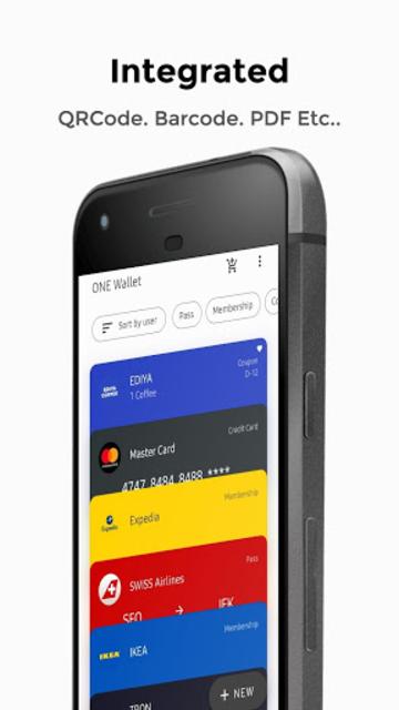ONE Wallet - Your Pass Wallet screenshot 1