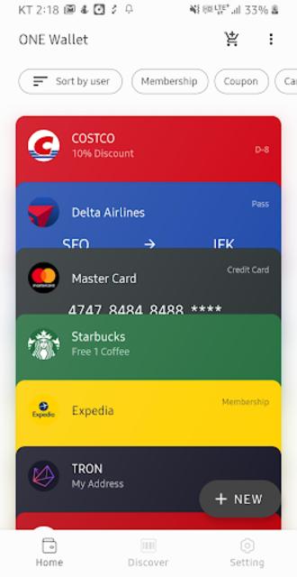 ONE Wallet - Your Pass Wallet screenshot 6