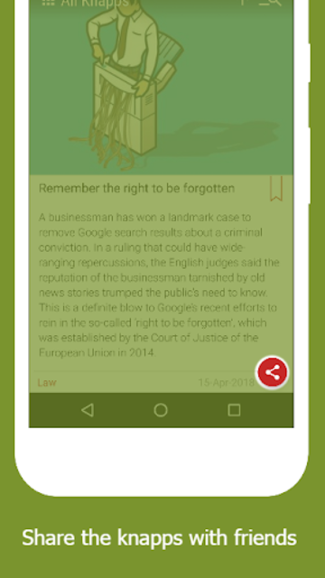 Knappily - The Knowledge App screenshot 7