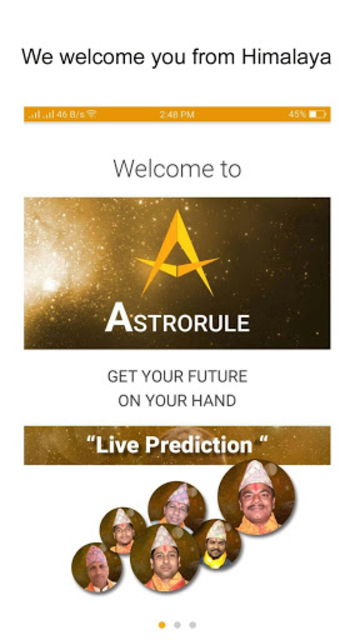 Astrorule: Vedic Astrology & Horoscope screenshot 1
