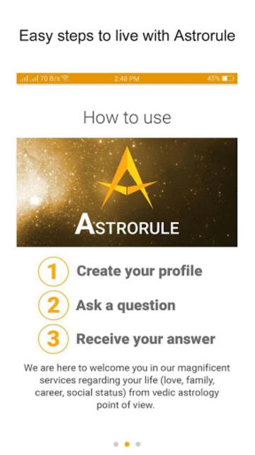 Astrorule: Vedic Astrology & Horoscope screenshot 2