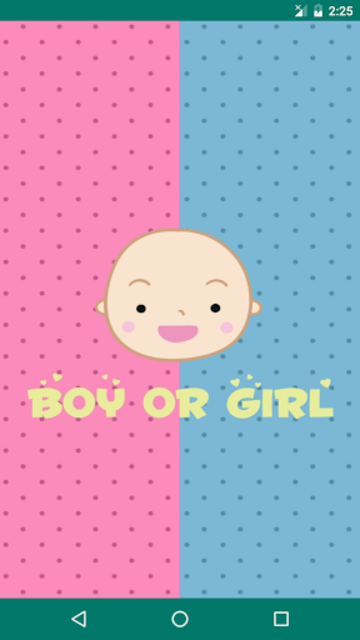 Boy or Girl - Gender Predictor screenshot 1