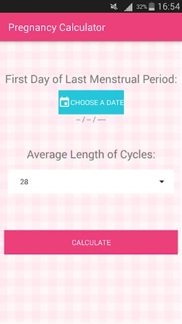 Pregnancy Calculator - Due Date Calculator screenshot 1