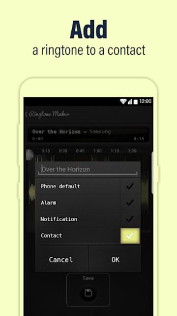 Call Ringtone Maker – MP3 & Music Cutter screenshot 3