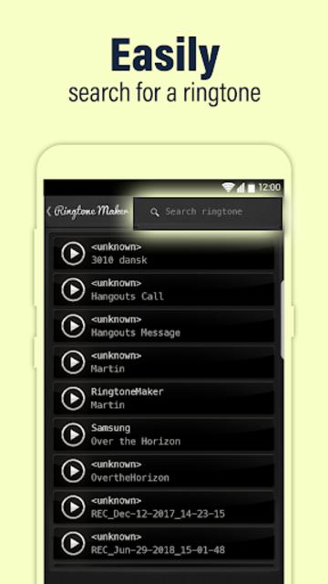 Call Ringtone Maker – MP3 & Music Cutter screenshot 5
