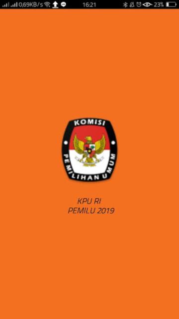 KPU RI PEMILU 2019 screenshot 1