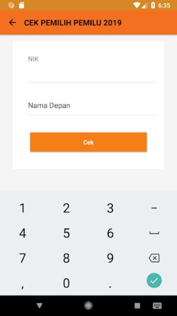 KPU RI PEMILU 2019 screenshot 3