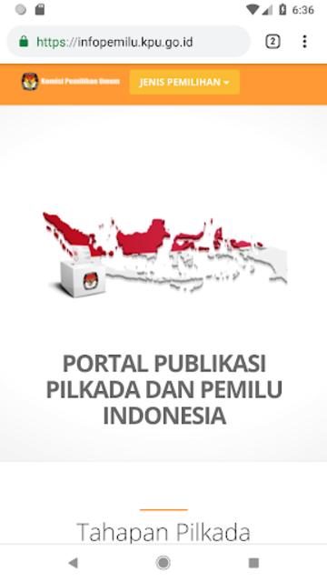 KPU RI PEMILU 2019 screenshot 7