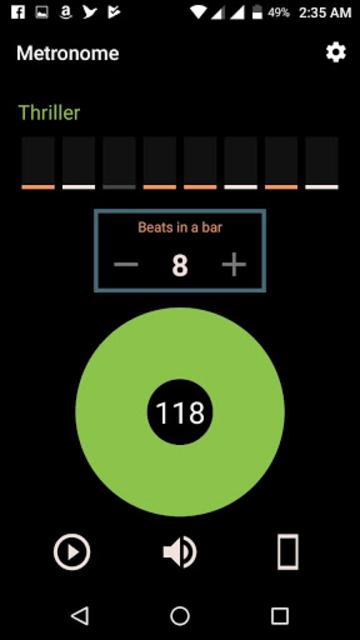 Tap Tempo Pro - BPM counter & Metronome screenshot 6