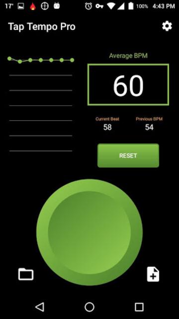 Tap Tempo Pro - BPM counter & Metronome screenshot 2