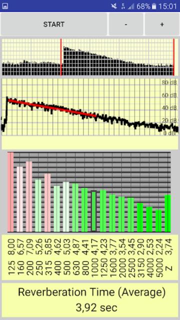 reverberation time pro screenshot 3