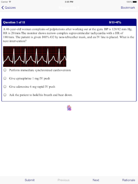 ACLS MegaCodes Review 2015 screenshot 10