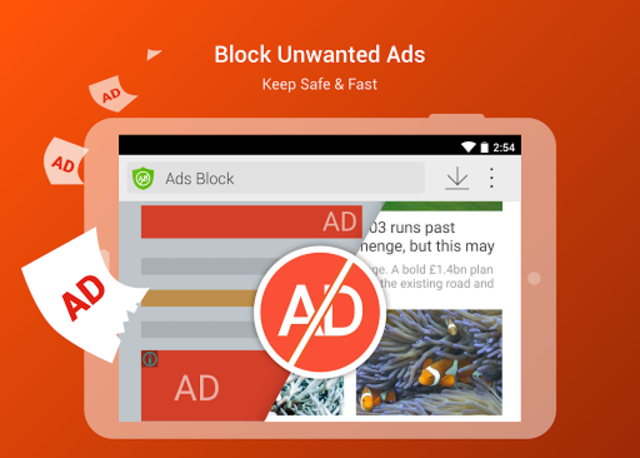 CM Browser - Ad Blocker , Fast Download , Privacy screenshot 6