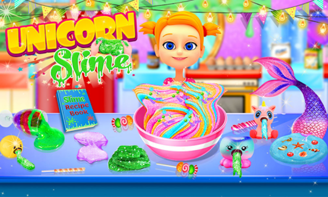 Unicorn Slime Maker and Simulator Oddly Satisfying screenshot 1
