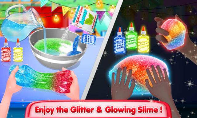 Unicorn Slime Maker and Simulator Oddly Satisfying screenshot 4