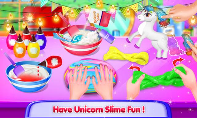 Unicorn Slime Maker and Simulator Oddly Satisfying screenshot 8