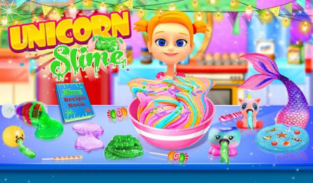 Unicorn Slime Maker and Simulator Oddly Satisfying screenshot 9