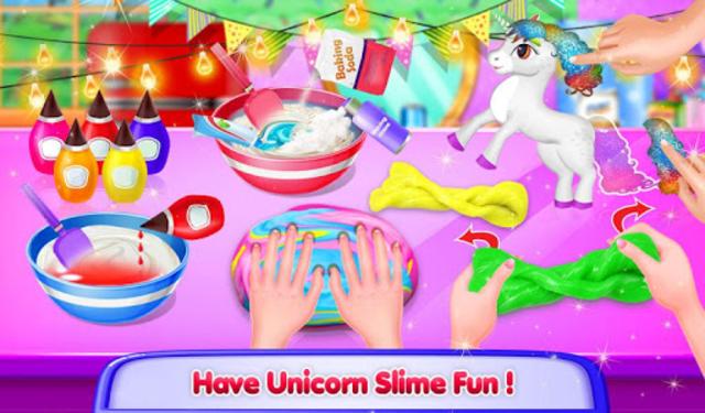 Unicorn Slime Maker and Simulator Oddly Satisfying screenshot 16